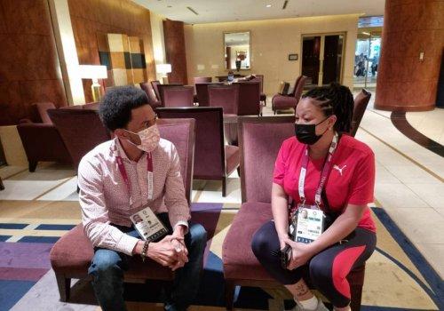 Trinidad and Tobago's 3 covid19-positive Olympians in 'good spirits'